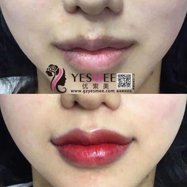 比较纹唇和漂唇区别